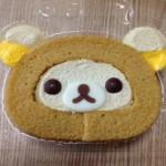 リラックマロールケーキ(*´ω`)