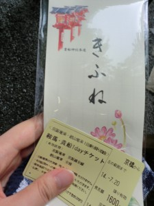 京阪 割引チケット 貴船神社 特典