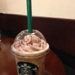 【ダブル チョコレート コーヒー ジェリー フラペチーノ@スタバ】