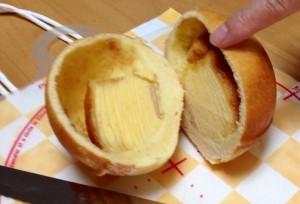 パンの中にバームクーヘン