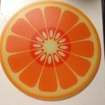 Joseph Joseph(ジョセフジョセフ)オレンジ柄のカッティングボード♪
