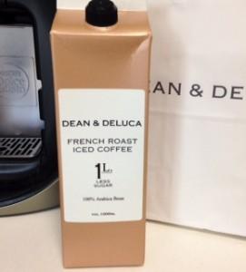 DEAN & DELUCA ディーンデルーカ アイスカフェオレ 微糖