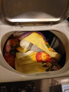 リラックマのぬいぐるみを洗濯 手洗い 洗濯の仕方 (3)