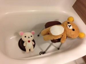 リラックマのぬいぐるみを洗濯 手洗い 洗濯の仕方