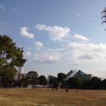 大阪で凧揚げができる場所。
